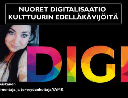 Nuoret digitalisaatio kulttuurin edelläkävijöitä